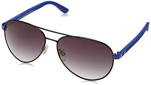 Tommy Hilfiger 1325/S Mens Sunglasses - Black Blue/Gray Gradient / One Size