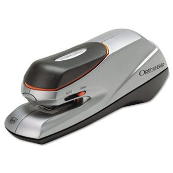 48207 - Optima Grip Electric Stapler, 20-Sheet Capacity, Silver