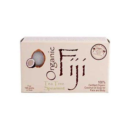 Organic Fiji Cocnt Oil Soap,Og2,T/Tree 7 Oz 1-Ea