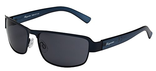 Burgmeister Herren SBM127-101 Rechteckig Sonnenbrille, Blue