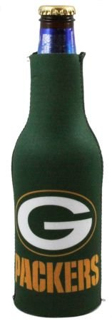 Green Bay Packers Nfl Bottle Suit Koozie Cooler Coozie by Kolder