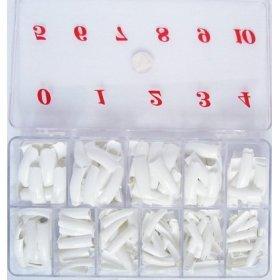 White color tip 550 pcs/box