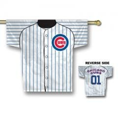 Chicago Cubs MLB Jersey Design 2-Sided 34 x 30 Banner Sports Home Decor Wall Hanging... by MLB