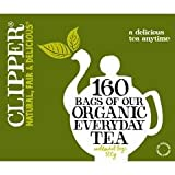 Clipper Organic Everyday One Cup 160 Tea Bags 500g - CLIP-3819