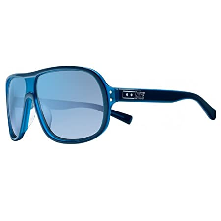 Nike Vintage MDL. 96 Sunglasses, Blue Azure, Blue Flash Lens