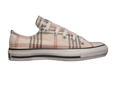 Converse Chuck Taylor All Star Lo Top Plaid Cream/Multi 512154F