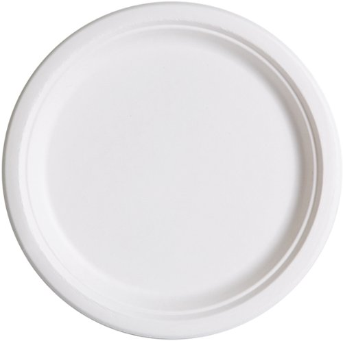"""Eco-Products Ep-P005 10"""" Sugarcane Plate (10 Packs Of 50)"""
