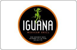 Iguana Mexican Grill Gift Card ($75) front-910139