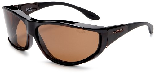 Haven Fits Over Sunwear Malloy Fitover Sunglasses,Tortoise Frame/Amber Lens,one size