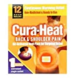 Cura-Heat Back & Shoulder Pain - 2 patches