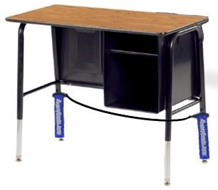 Bouncy Bands for Wide Desks (Blue support pipes)