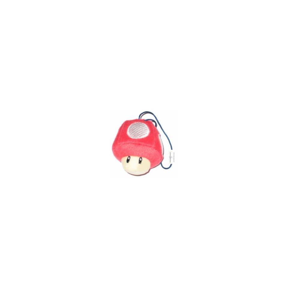 Nintendo Super Mario Bros. Mushroom Plush Keychain