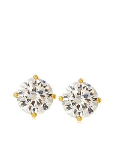CZ by Kenneth Jay Lane Round CZ Stud Post Earrings