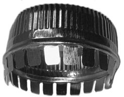 Midwest Ducts Crimped Collar - 9 Inches