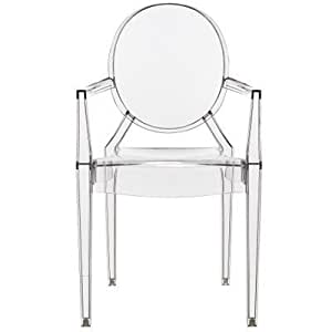 Kartell louis ghost chair crystal kitchen home - Chaise starck louis ghost ...