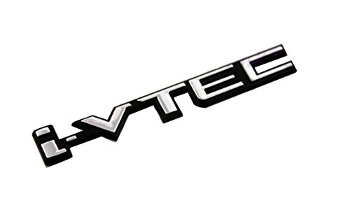 GOOACC®3D i-VTEC LOGO CHROME BADGE EMBLEM STICKER DECAL HONDA CIVIC ACCORD EG6 EK9 VTEC (Vtec Honda Sticker compare prices)