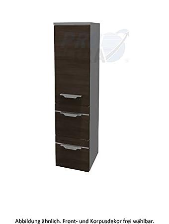 Pelipal Balto Bathroom Cupboard (BL-M 01-L / R Tall Comfort N 121,8 x 30 x 33 CM