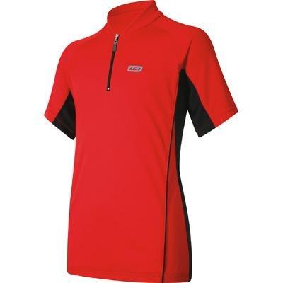 Buy Low Price Louis Garneau Mistral JR Half-Zip Jersey – Short-Sleeve – Boys' (B004NNLCSY)