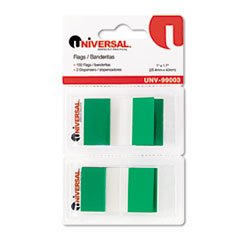** Page Flags, Green, 50 Flags/Dispenser, 2 Dispensers/Pack **