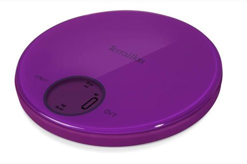 Balance électronique prune Halo Bumper, 6 kg - Terraillon