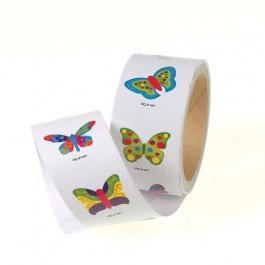 200 Butterfly Stickers/ARTS & CRAFTS Supplies/SCRAPBOOKING - 1