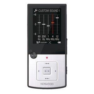 ケンウッド デジタルオーディオプレーヤー Media Keg 8GB シルバー MG-G708-S