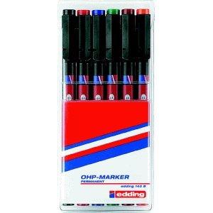 edding-ohp-marker-1-3mm-keilspitze-permanent-sortiert