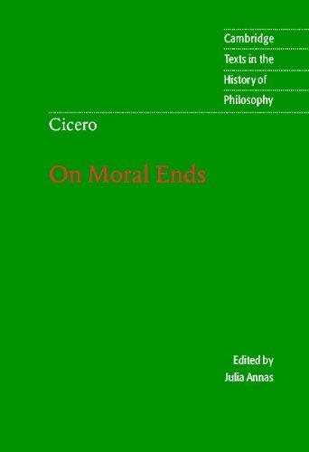 Marcus Cicero - Cicero: On Moral Ends
