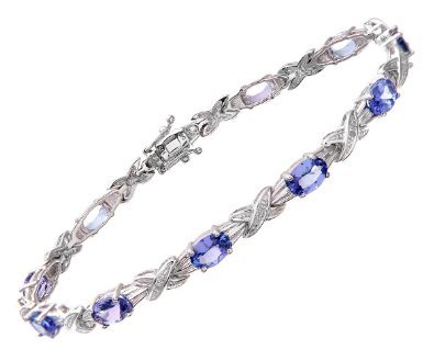 9 ct white gold ladies [parallel import goods] gleaming tanzanite natural diamond boasts a very fine sheen of exceptional skin beautiful blue color