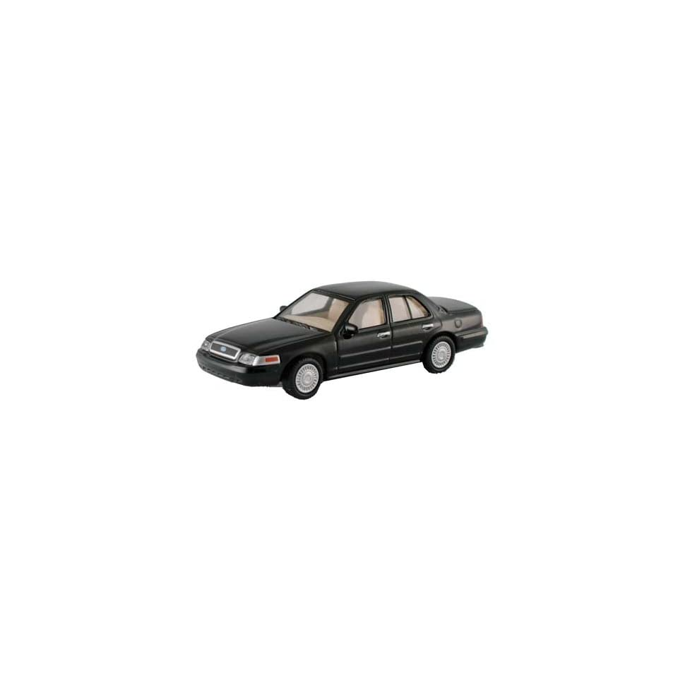 Model Power HO Ford Crown Victoria Police Car   Black Toys & Games