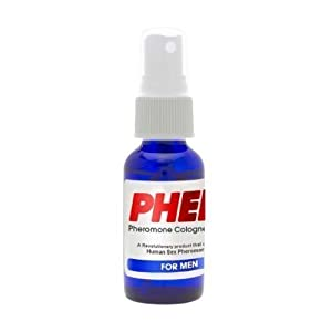 PherX Pheromone Cologne for Men (Attract Women) - The Science of Attraction - 18mg Human Pheromones