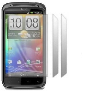 KC-Electronics HTC Sensation 3 Pack LCD Screen Protector Guards
