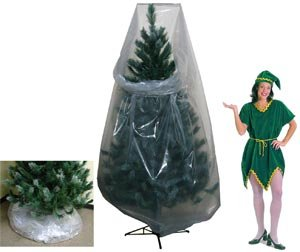#!Cheap Clear Poly Vinyl Christmas Tree Storage Bags