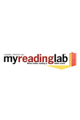 MyReadingLab without Pearson eText -- Standalone Access Card
