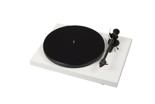 Best Price Pro-Ject Debut Carbon (White) Belt-drive Turntable