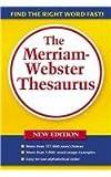 The Merriam-Webster Thesaurus (0756953960) by Merriam-Webster