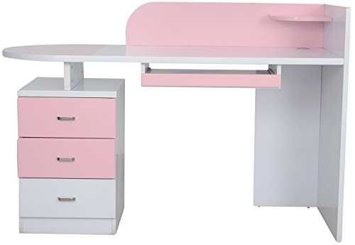 Kids Kouch Study Table (Pink)