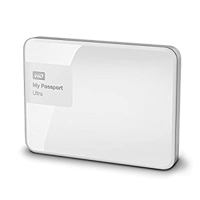 Western Digital My Passport WDBBKD0020BWT 2TB Portable External Hard Drive (White)