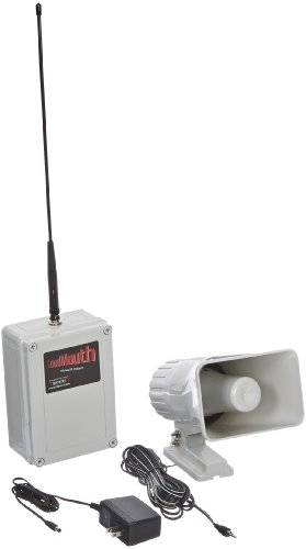 Ritron Lm-U450 Wireless Uhf Pa Receiver With Speaker, Antenna And Power Supply