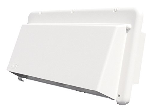 Heng's (J116AWH-C) Bright White Exhaust Vent Cover (Outside Wall Fan compare prices)