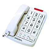 Northwestern Bell Big-Button Corded Phone Plus with 13-Number Memory (20200-1)