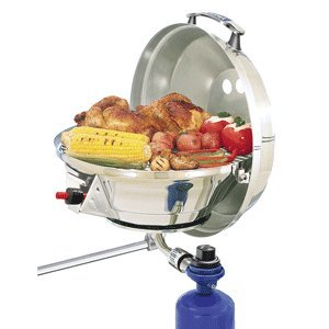 The Amazing Quality Magma Marine Kettle 2 Stove & Gas Grill Combo - Original Size 15""