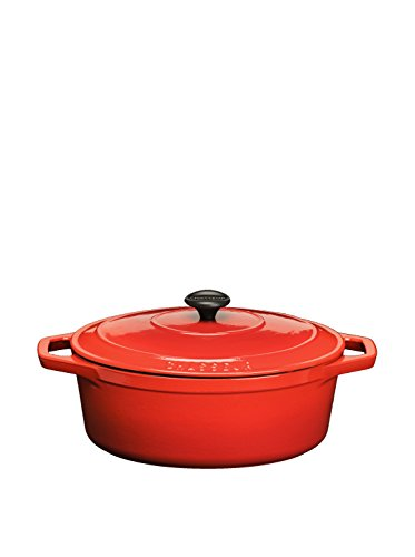 Chasseur Classique 7.25-Qt. Cast Iron Oval Covered Casserole
