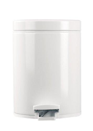 Brabantia 283420 5-Liter Pedal Bin, White
