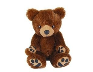 "Purr-Fection Tender Friend Brown Bear 12"" Plush - 1"