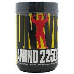 Universal Nutrition Amino 2250 260 Tabs Amino Acids