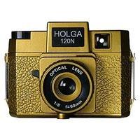 Holga Holgawood Series 120N Medium Format Fixed Focus Camera with Lens - Oscar