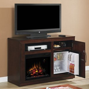 Classicflame Party Time Electric Fireplace Media Console In Empire Cherry - 23Tf2587-C232