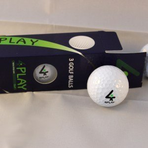 4PLAY Standard Abstand Golf Bälle - Limited Edition