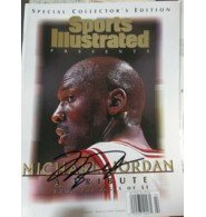 Buy Signed Jordan, Michael (Chicago Bulls) Special Collector's Edition Sports Illustrated Magazine 1 20... by Powers Collectibles